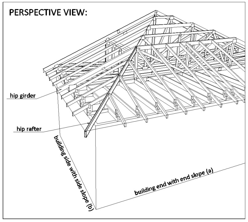 hip ridge rafters do you know how to calculate them gould