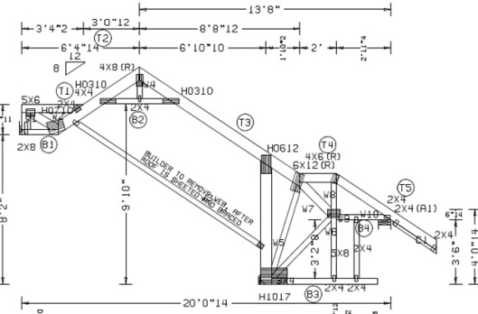 Crazy and complicated truss designs part 3 gould design for Bonus room truss design