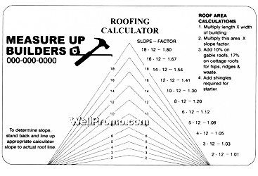 Roof Pich Amp How Much To Add For Roof Pitch Sc 1 St Roof Genius