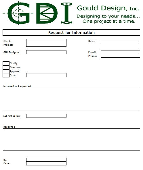 request-for-information-form | Gould Design, Inc.'s Blog
