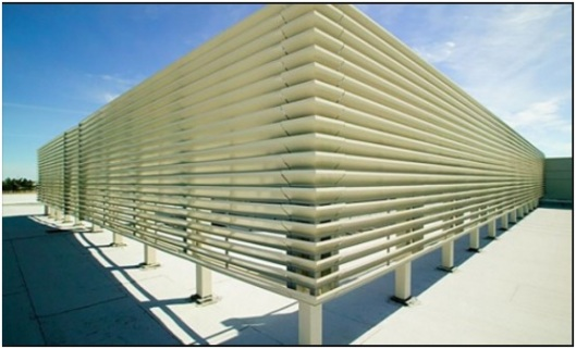 Rooftop Mechanical Screens : Trusses gould design inc s